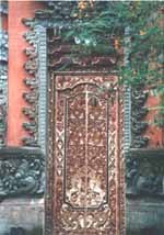 Door in Ubud
