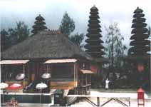 Japanese style temple