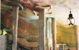 Lobby Ceiling, Casa Mila