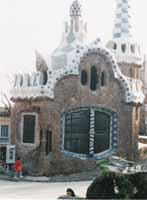 Icing on cookie house - Parc Guell