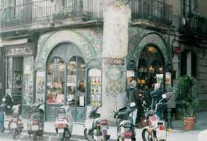 Café on La Rambla