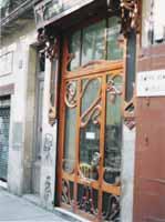 Art Nouveau Bookstore