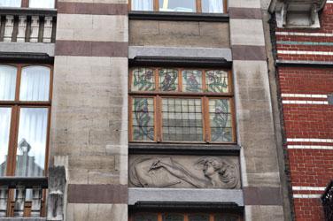 Art Nouveau home in Brussels, Belgium