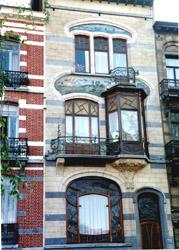 Art Nouveau home, Brussels, belgium