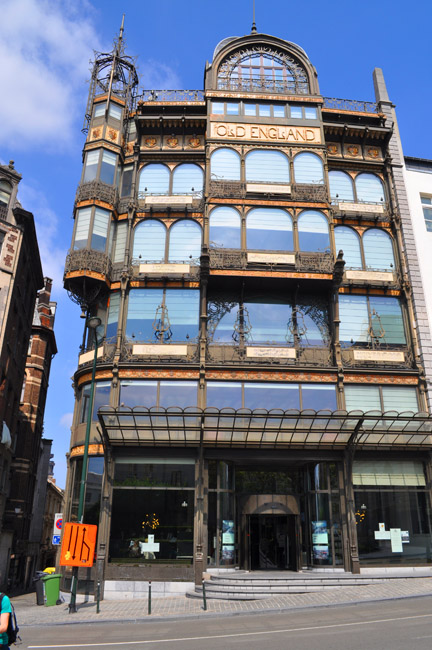 The Old Enlgand Store, Brussels, Belgium