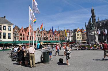 Main square, Bruges, Belgium