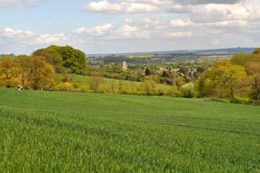 Weekend walkers to Chipping Campden