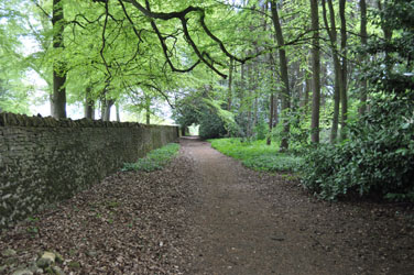 Path along Park Farm, Blockley