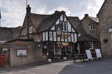 Sherborne Arms Pub and Inn, Northleach, Cotswolds, England