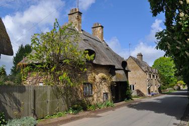 Thatched roof home, Broadway