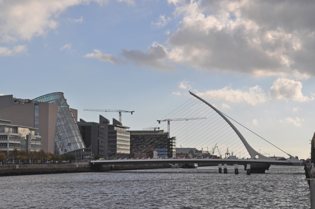 Convention Center by Beckett Bridge, Dublin, Ireland