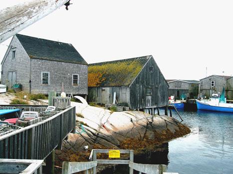 Lobster shack, Peggy's Cove, Nova Scotia