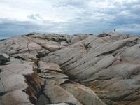 Granite shores at Peggy's Cove, Nova Scotia