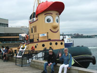 Theodore the Tugboat - the real one