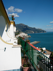 View of Amalfi, from Hotel Il Nido