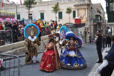 Carnival in Valletta, Malta. Photo by David Wineberg