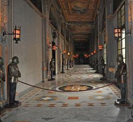 Hallway in the Palace of the Grandmaster, Valletta, Malta. Photo by David Wineberg