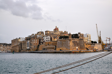 Isla south of Valletta, Malta. Photo by David Wineberg