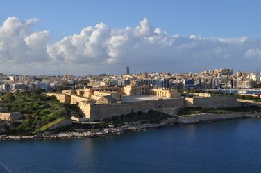 Fortress on Manoel Island, Malta. Photo by David Wineberg