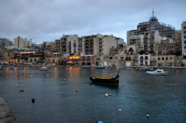 Spinola Bay, St. Julian's, Malta. Photo by David Wineberg