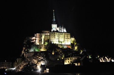 Mont Saint-Michel, Normandy, France. Photo by David Wineberg