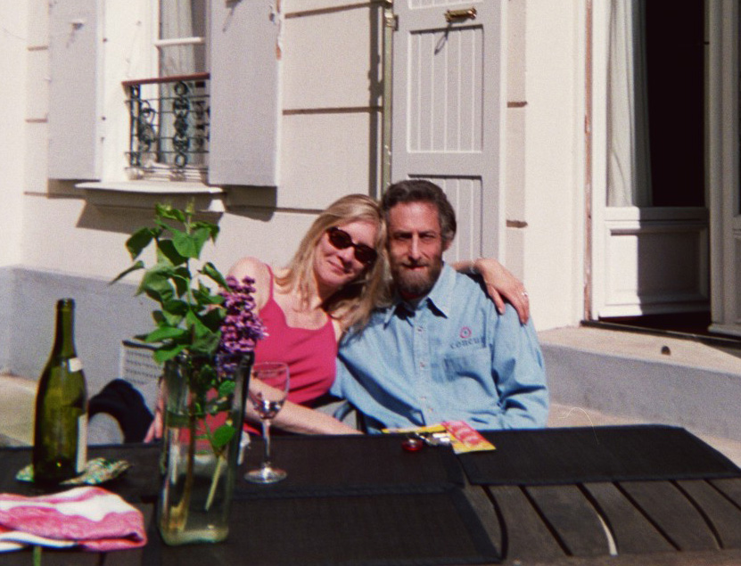 Backyard in April 2003