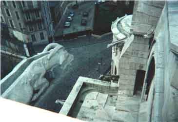 Looking down from Sacre Coeur