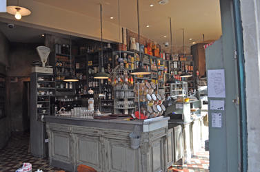 Ginette & Marcel Cafe, Avignon, France. Photo by David Wineberg