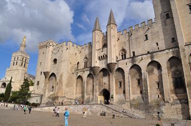 Papal Palace, Avignon, France Photo by David Wineberg