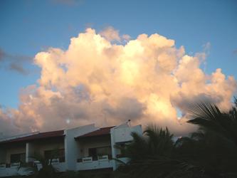 Sunrise over Occidental Flamenco, Punta Cana, Dominican Republic