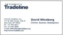 Internet Tradeline