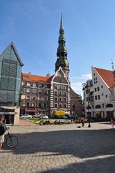 Old Town Square, Riga, Latvia. Photo by David Wineberg