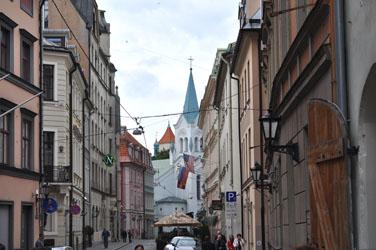 Old Town, Riga, Latvia. Photo by David Wineberg