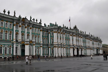 Hermitage Museum, St. Petersburg, Russia. Photo by David Wineberg
