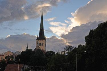 St. Olaf's Church, Tallinn, Estonia. Photo by David Wineberg